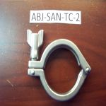 "2"" Sanitary Tri-Clover Clamp"